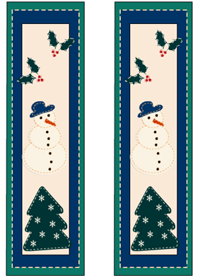image about Printable Christmas Bookmarks identified as Cost-free Printable Xmas Bookmarks