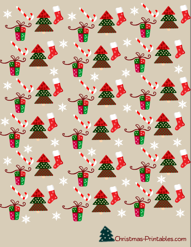 Free Printable Christmas Candy Wrappers