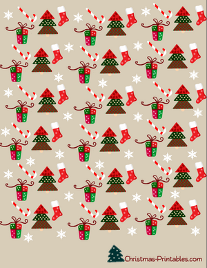 free printable christmas candy wrapper, gum wrapper