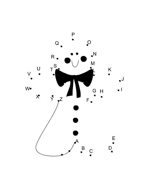 Free Printable Christmas Dot to Dot