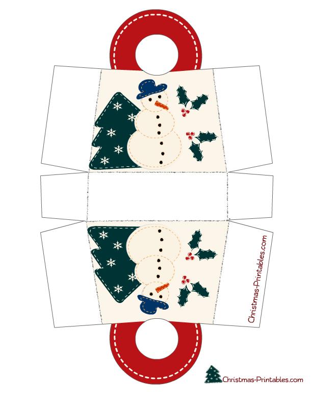 Free Printable Christmas Gift Bags