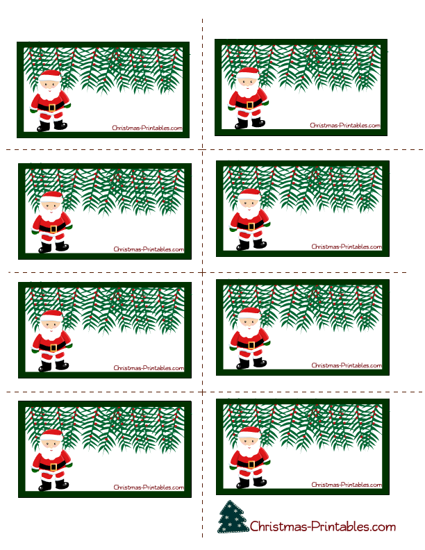 picture regarding Santa Labels Printable named Totally free Printable Xmas Labels