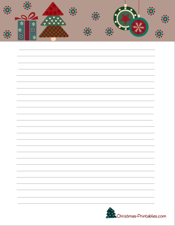 image about Free Printable Christmas Letterhead referred to as No cost Printable Xmas Stationery