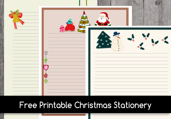 graphic regarding Printable Santa Stationary titled Absolutely free Printable Xmas Stationery