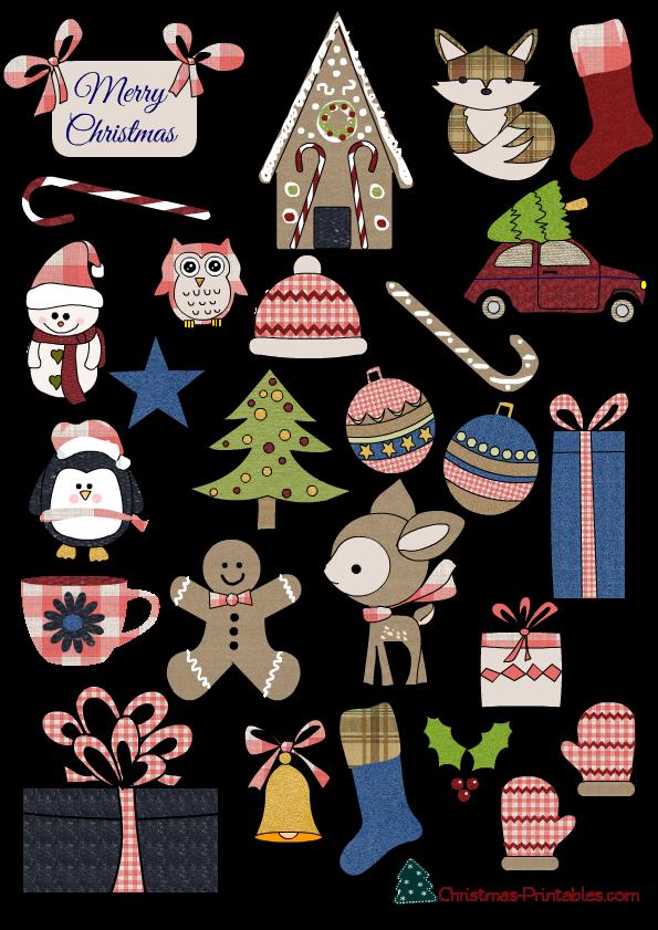 27 Free Printable Christmas Stickers