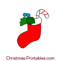 free christmas stockings clipart