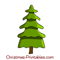 This is another Christmas tree clipart decorated with different ...