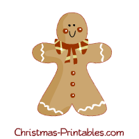 ginger-bread-man clipart