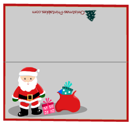 8 Best Images Of Printable Christmas Name Cards S Place Template And