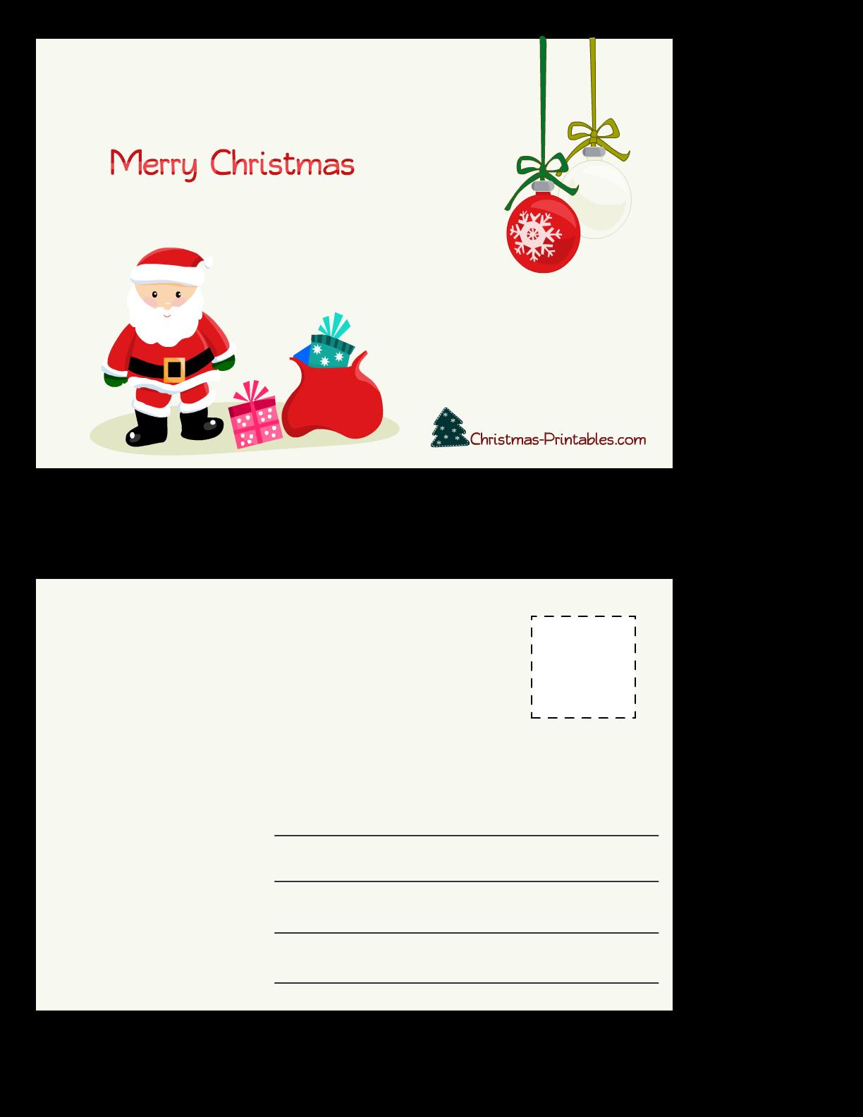 Free Christmas Printables!   Jellybean Junkyard  Cute Printable Holiday Cards