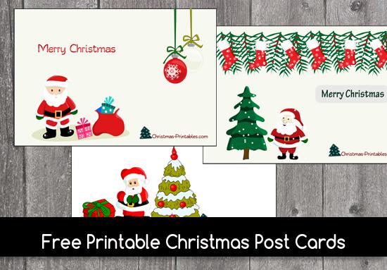 image regarding Free Printable Photo Christmas Cards named Totally free Printable Xmas Postcards