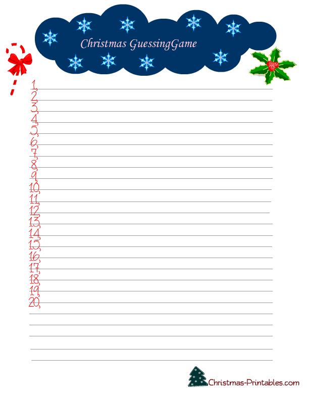 graphic regarding Printable Christmas Word Games named 7 Totally free Printable Xmas Video games