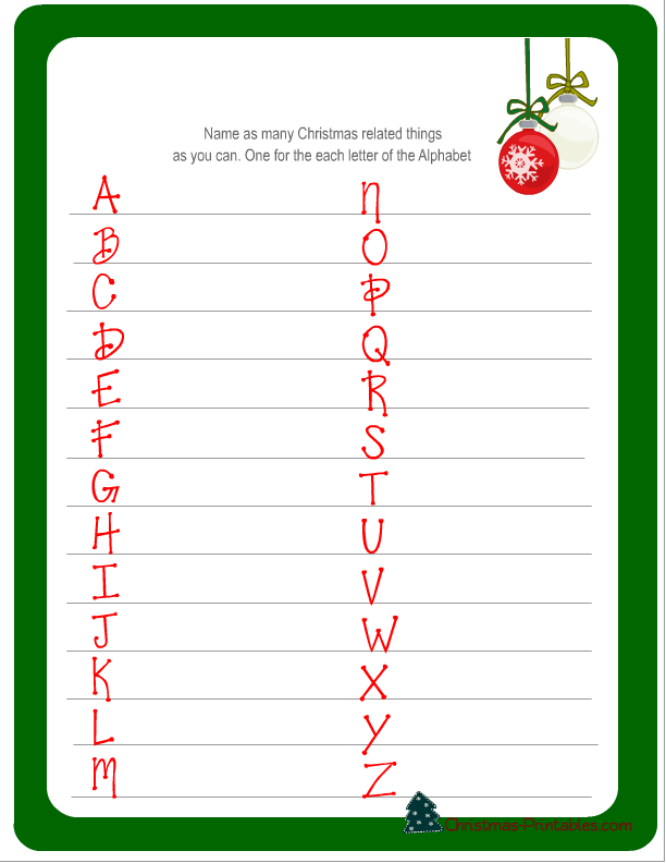 image regarding Guess the Christmas Song Printable named 7 Cost-free Printable Xmas Game titles